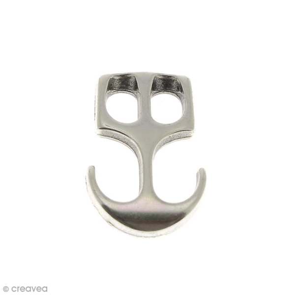 Fermoir ancre en métal - 29 mm - Photo n°1