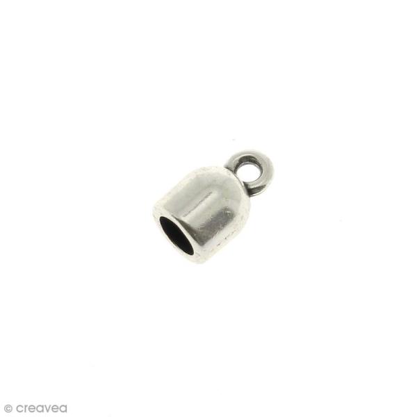Embout en métal 13 mm pour cordon de 5 mm - Photo n°1