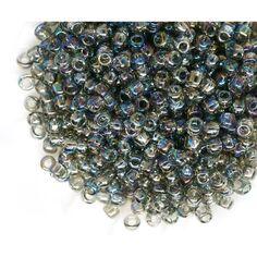 Toho 11//0 rocaille 2,2 mm 10 G 20 G Argent Cristal Avec argent retrait code 21