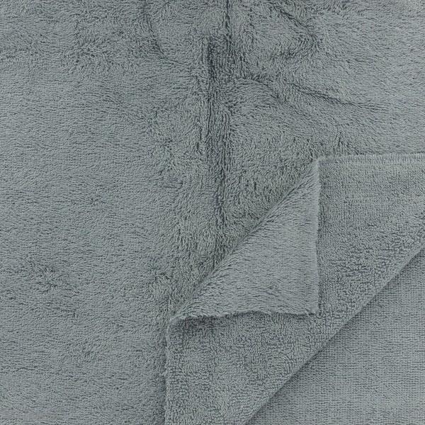Tissu éponge de bambou - Gris - Par 10 cm (sur mesure) - Photo n°2