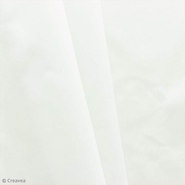 Tissu PUL imperméable - Blanc - Par 10 cm (sur mesure) - Photo n°1