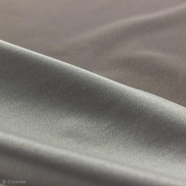 Tissu PUL imperméable - Gris - Par 10 cm (sur mesure) - Photo n°2