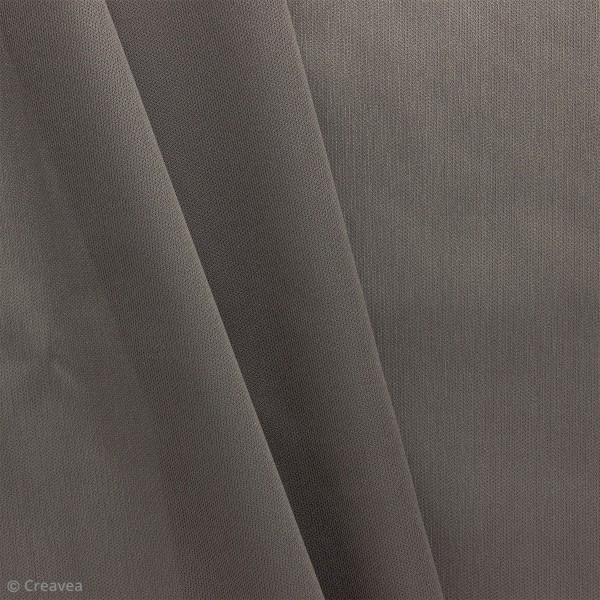 Tissu PUL imperméable - Gris - Par 10 cm (sur mesure) - Photo n°1