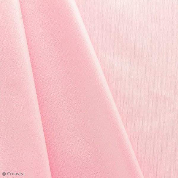 Tissu PUL imperméable - Rose - Par 10 cm (sur mesure) - Photo n°1