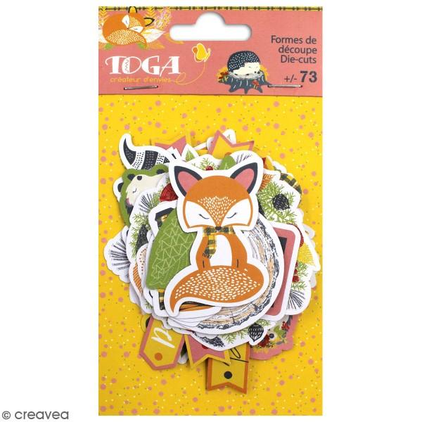Die cut Toga - Foxy - env. 73 pcs - Photo n°1