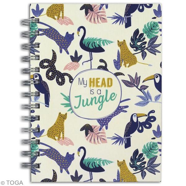 Kit Papeterie Creative Vibes - Jungle Tropical - 51 pcs - Photo n°3