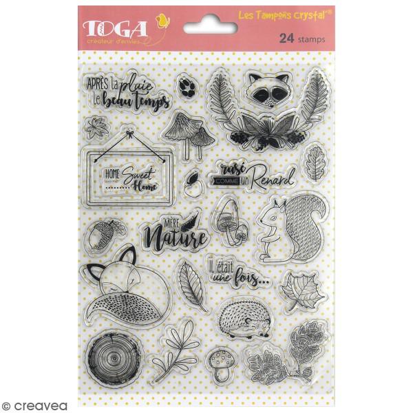 Tampon crystal Toga - Foxy - 24 pcs - Photo n°1