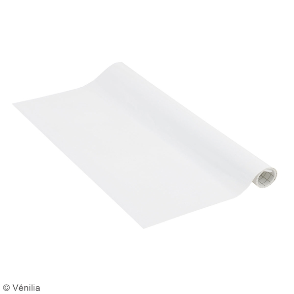 Adhésif brillant Venilia Basicline - Blanc - 150 x 45 cm - Photo n°2