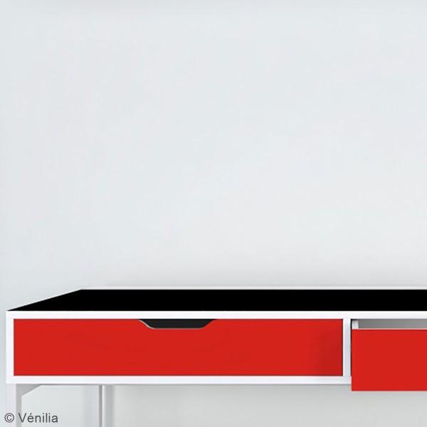 Adhésif brillant Venilia Basicline - Rouge - 150 x 45 cm - Photo n°4
