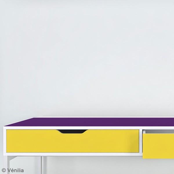 Adhésif brillant Venilia Basicline - Jaune - 150 x 45 cm - Photo n°2