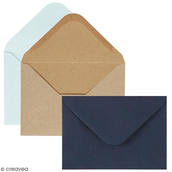 Enveloppes 115 x 160 - Paquets de 10 enveloppes - Photo n°1