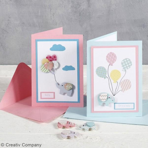 Cartes 10,5 x 15 cm et enveloppes - 6 sets - Photo n°4