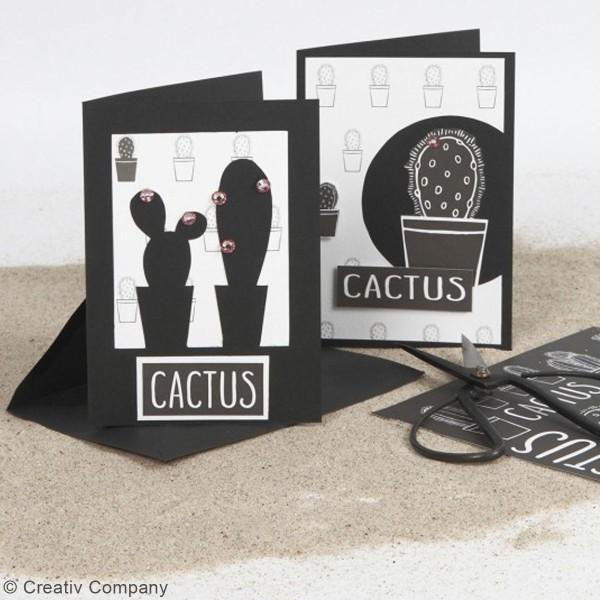 Cartes 10,5 x 15 cm et enveloppes - 6 sets - Photo n°5