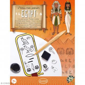 Coffret créatif - J'écris mon prénom - Hiéroglyphe