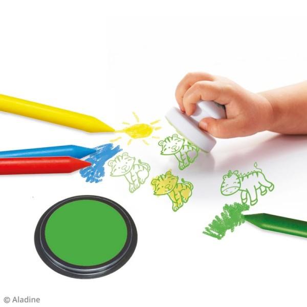 Coffret créatif Baby Box Safari - Avec tampons, encreurs et crayons - Photo n°2