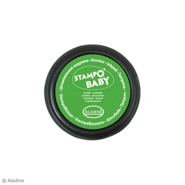 Coffret créatif Baby Box Safari - Avec tampons, encreurs et crayons - Photo n°5