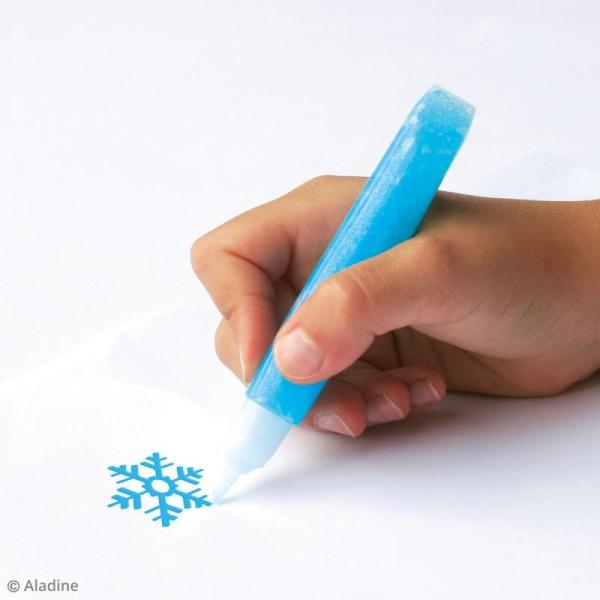 Marqueurs Colors Glitter Ice - Pailleté - 9 pcs - Photo n°2