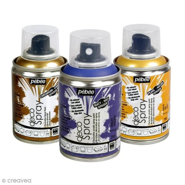 Bombe de peinture DecoSpray 100 ml - Photo n°1