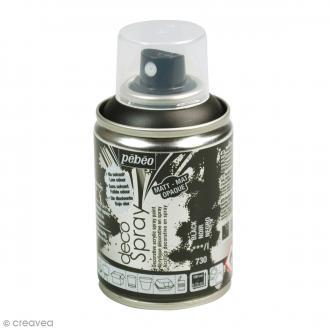 Bombe de peinture DecoSpray Noir - 100 ml