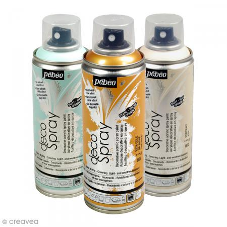 bombe de peinture decospray 200 ml peinture decospray. Black Bedroom Furniture Sets. Home Design Ideas
