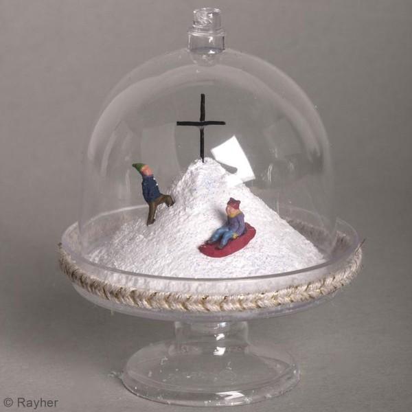 Décoration miniature - Enfants en traîneau - 1,5 à 2 cm - 6 pcs - Photo n°2