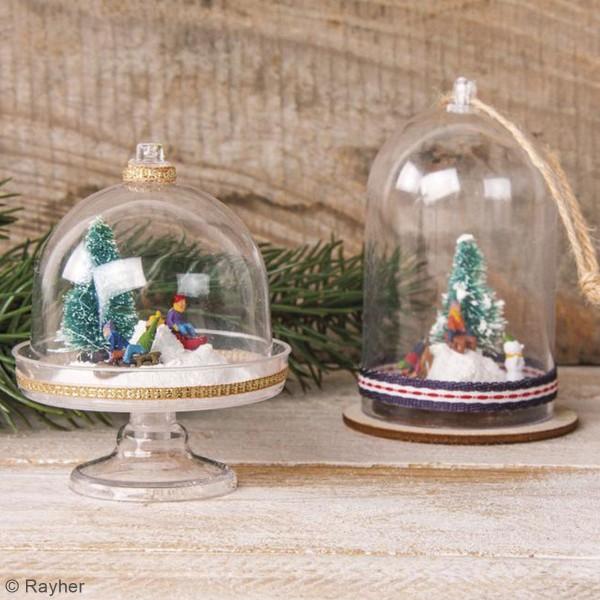 Décoration miniature - Enfants en traîneau - 1,5 à 2 cm - 6 pcs - Photo n°3