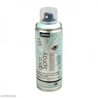 Bombe de peinture DecoSpray Vert pastel - 200 ml