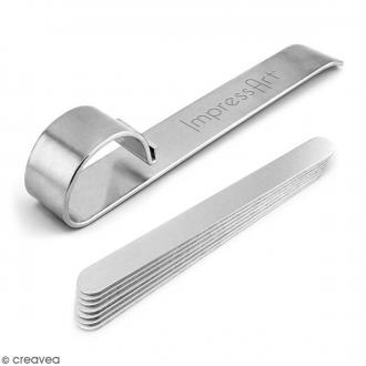 Set Plioir pour bracelets en métal - Avec 7 bracelets à plier