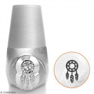 Tampon poinçon pour gravure métal - Attrape rêves - 6 mm