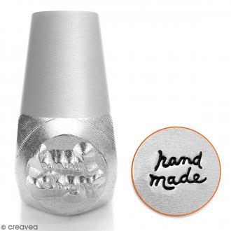 Tampon poinçon pour gravure métal - Hand made - 6 mm