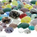 Assortiment de perles en verre - 500 g - Photo n°2