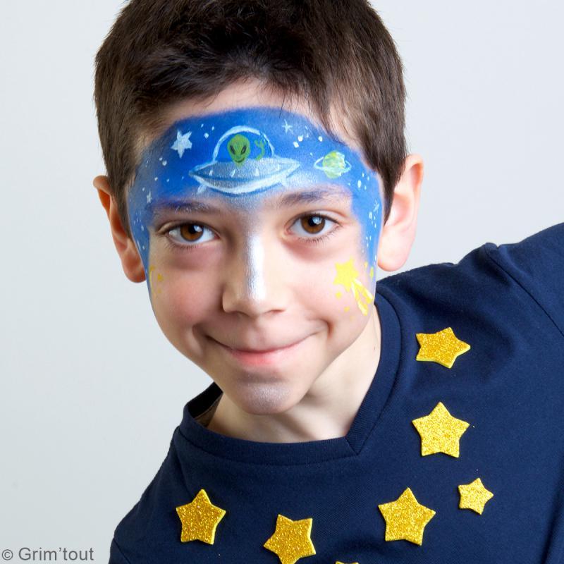 Pochoir maquillage adhésif Grim'tout - Galaxie - Photo n°3