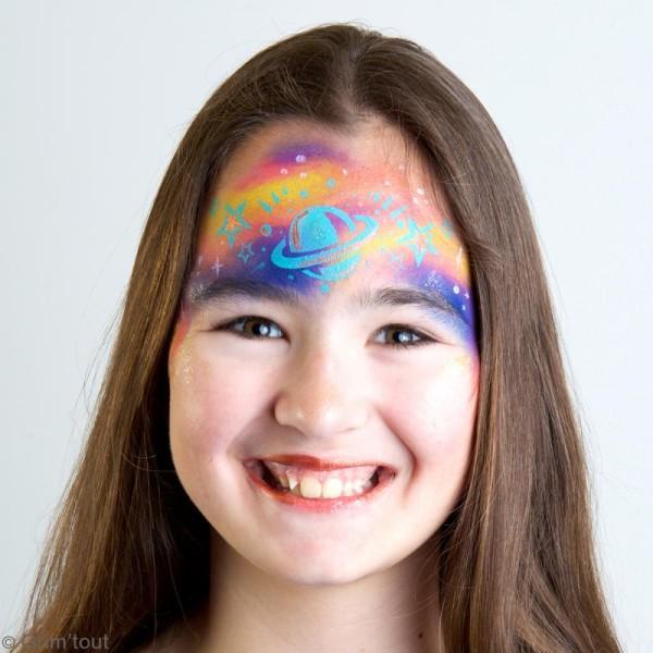 Pochoir maquillage adhésif Grim'tout - Galaxie - Photo n°2