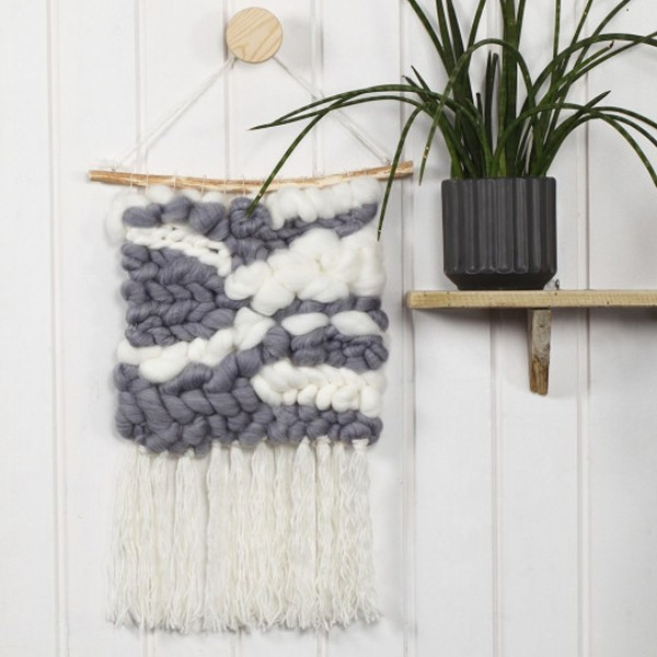 Pelote de laine Mega XL - Acrylique et laine - Différents coloris - 300 gr - 15 m - Photo n°3