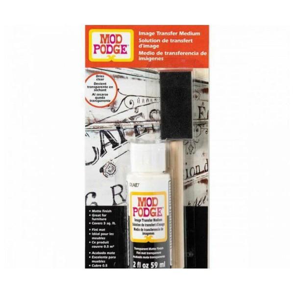 Médias de transfert de Mod Podge 59ml + Mousse Pinceau Jetable, Brosse de l'Artisanat, de l'Art de l - Photo n°1