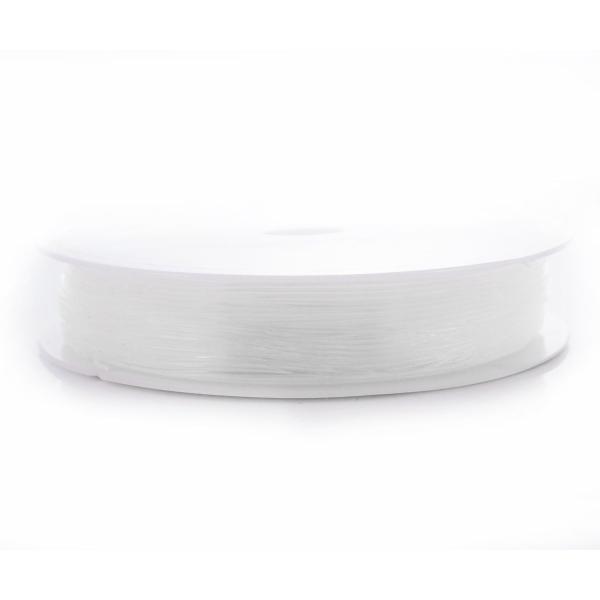 100m Bobine de Cristal Translucide Non Élastique Perles Forte Corde de Cordon de Ligne de Pêche, Fil - Photo n°1