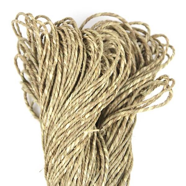 Cordage décoratif - corde naturelle - Photo n°3