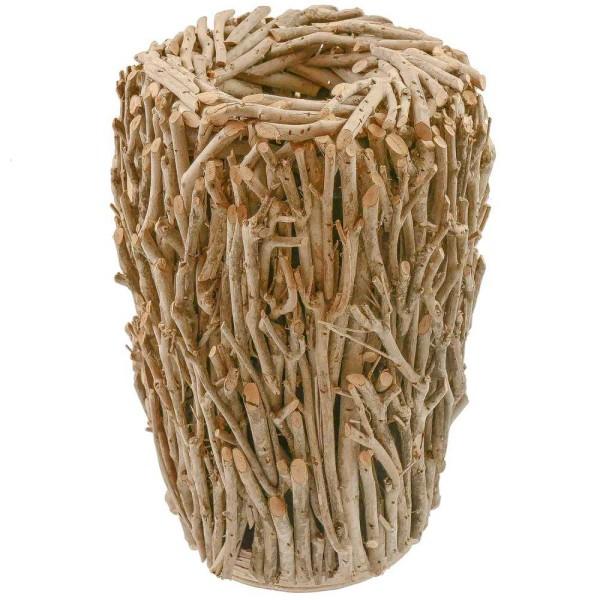 Vase en brindilles d'arbre à thé - Photo n°1