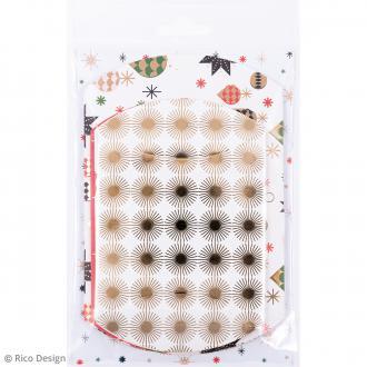 Pochettes cadeaux Puristic Christmas - 2 tailles - 6 pcs