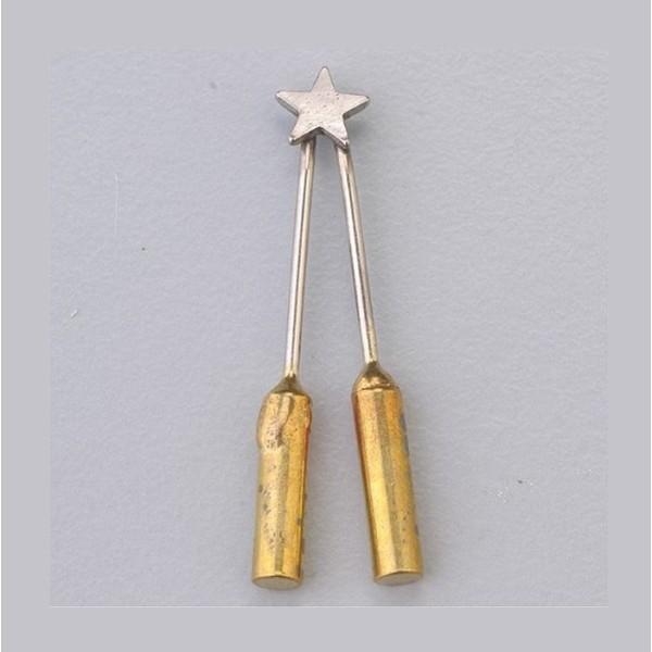Pointe étoile pour Centrale pyrogravure & pyrograveur Efco & Pebaro - Photo n°1