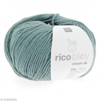 Laine Rico Design - Layette Baby clasic dk - Vert glacial - 50 g