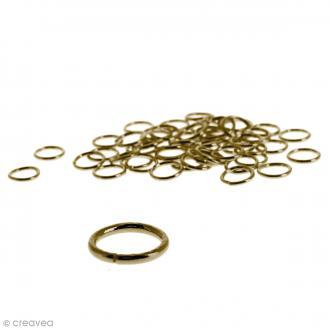 Anneaux brisés - Bronze - 7 mm - 50 pcs