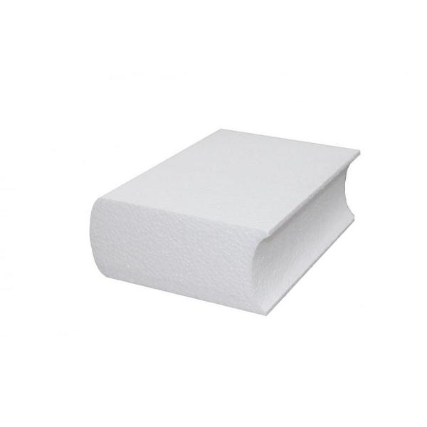 Livre Ferme En Polystyrene Dim 20 Cm X Epaisseur 7 Cm Densite Superieure A Customiser