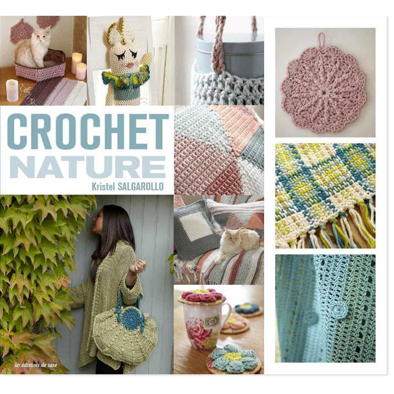 livre crochet crochet nature kristel salgarollo livre crochet creavea. Black Bedroom Furniture Sets. Home Design Ideas
