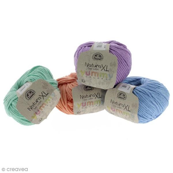 Fil DMC Natura XL Yummy Colors - Différents coloris - 100 g - Photo n°1
