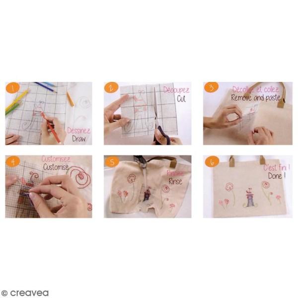 Feuilles Magic Paper vierge Custom By Me - A5 et A4 - 2 feuilles - Photo n°2
