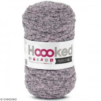 Ribbon XL Mix DMC - Rose - Matière 100% recyclée - 80 m