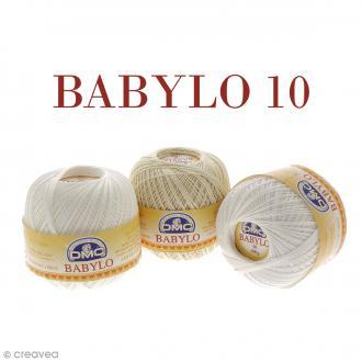Fil DMC Babylo 10 - Différents coloris - 100 g