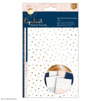 Assortiment carterie Forever Friends Opulent - Avec cartes, papiers et enveloppes - 24 pcs