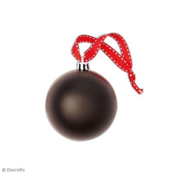 Boules de Noël ardoise 7 cm - 2 pcs - Photo n°2